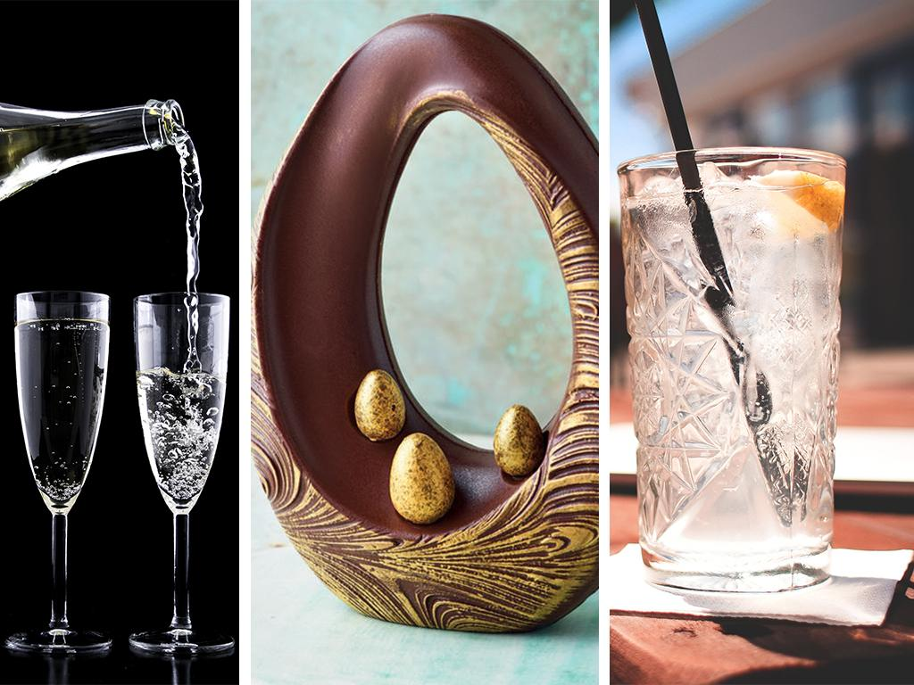 Lidl chocolate gin prosecco egg