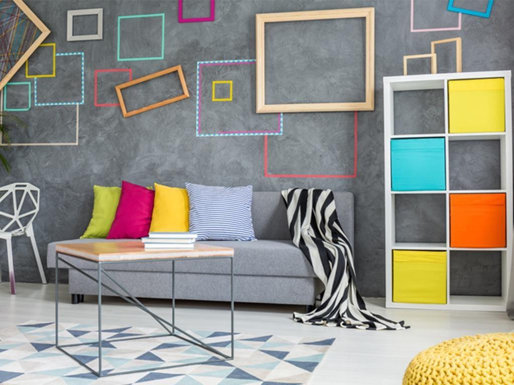 instagram home decor trends grey walls