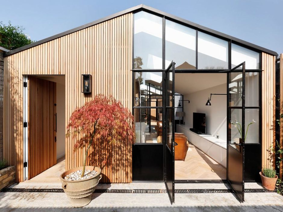 shed becomes new family home