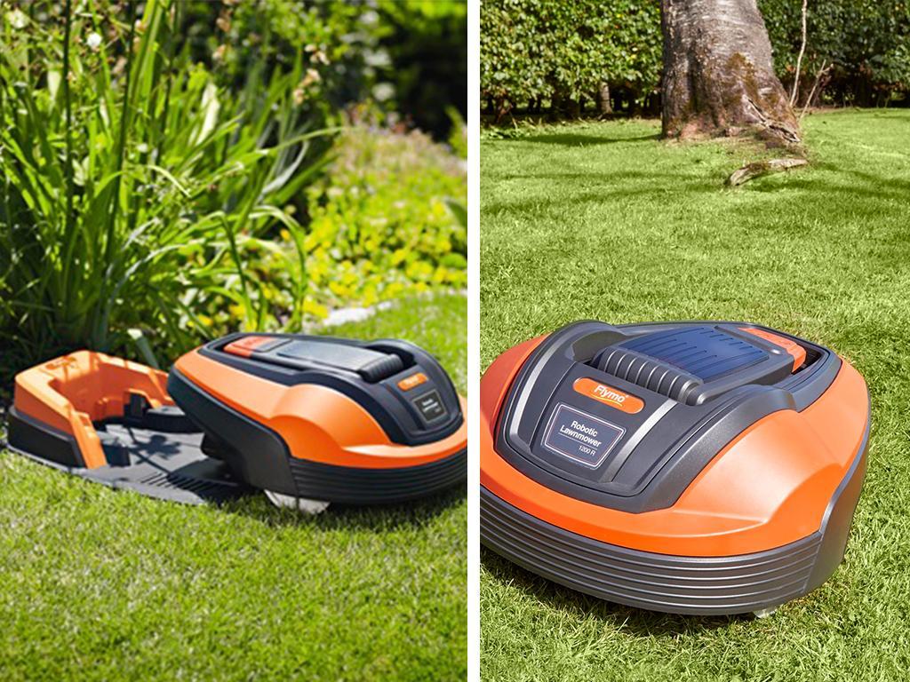 flymo garden robot