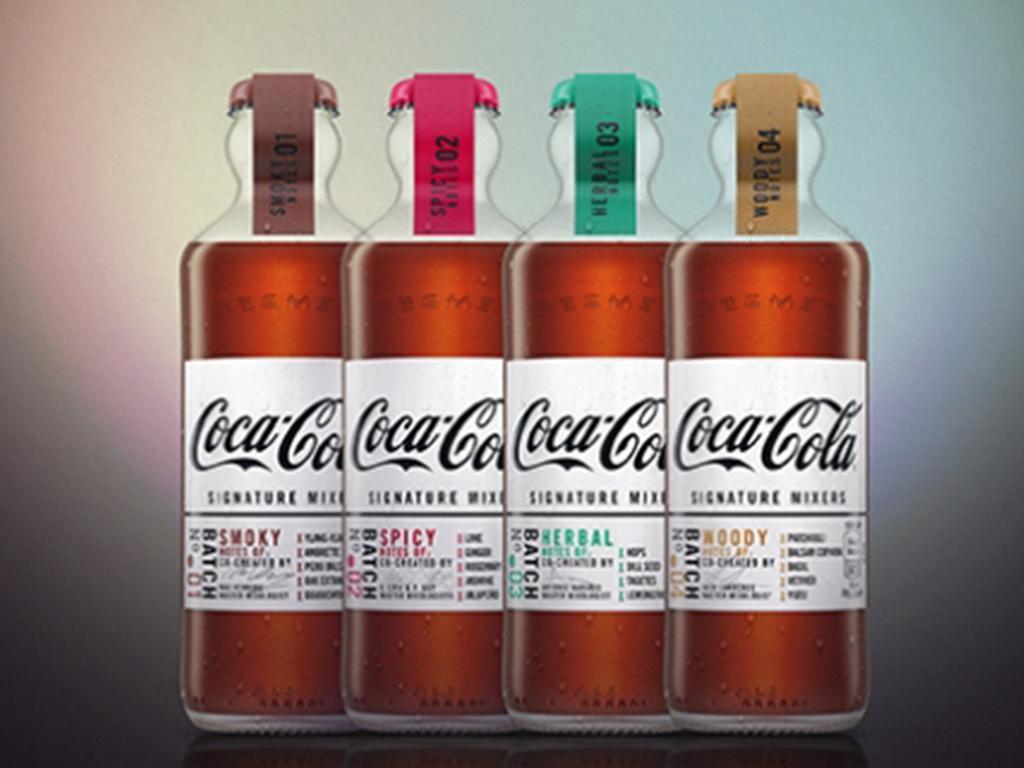 coca cola mixers