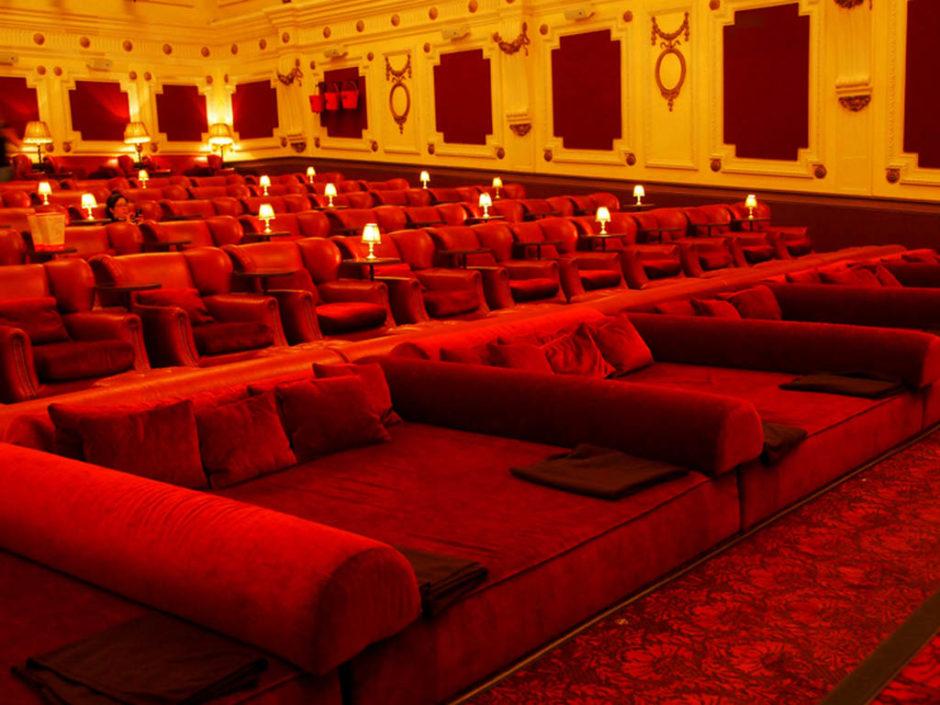 bed cinema london