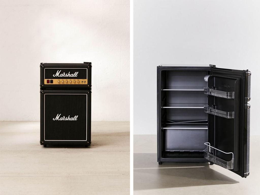 marshall mini fridge