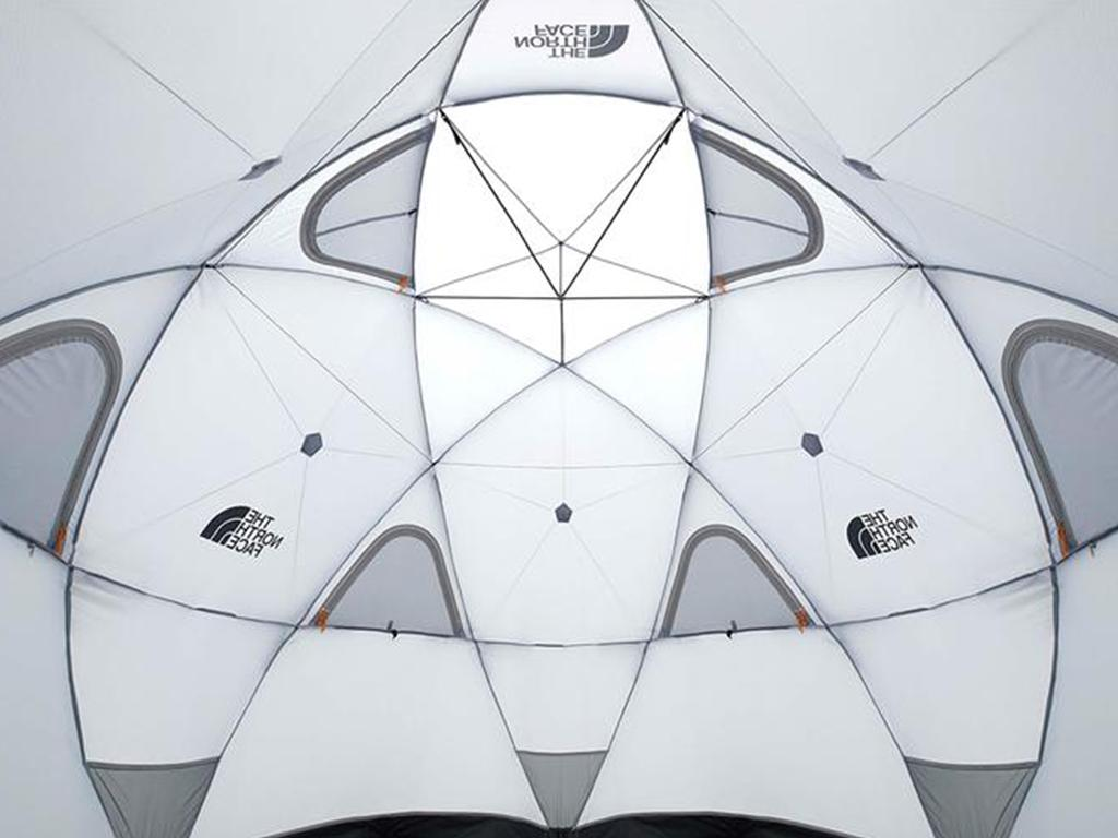 the north face geodome