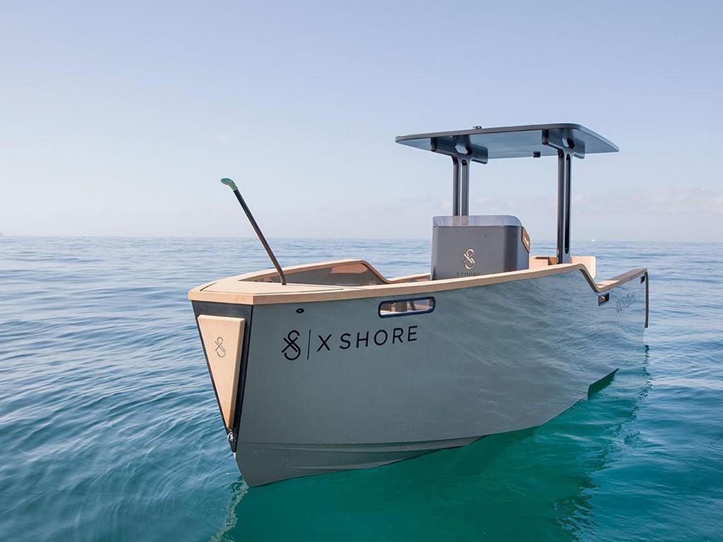 x shore electric boat