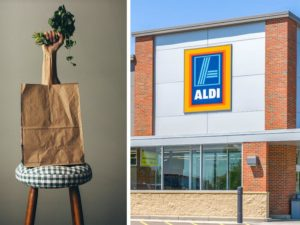 aldi compostable bags