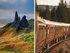luxury railway journey