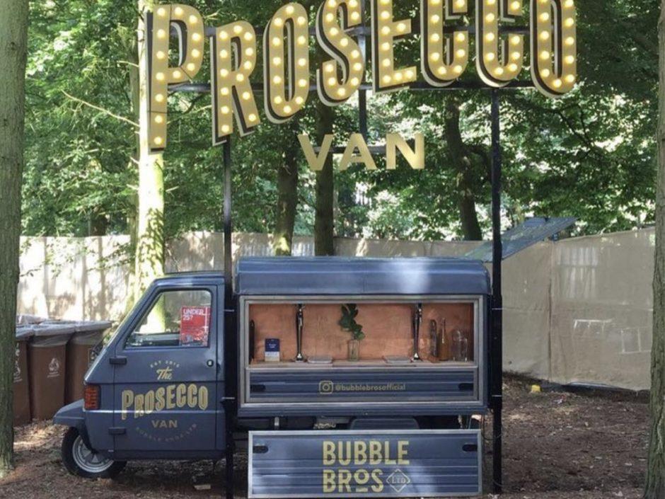 bubble bros prosecco van