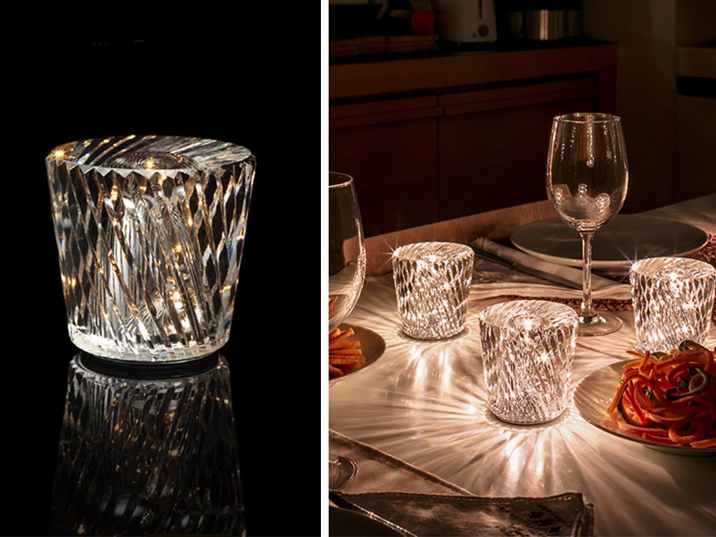 crystal led lamps