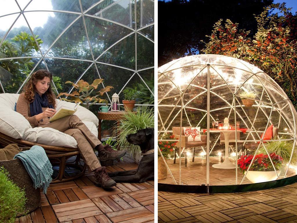 geodeic garden dome