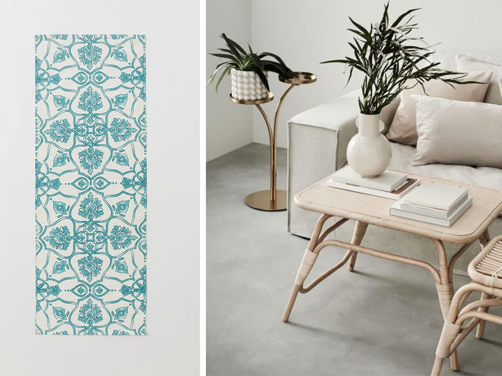 hm conscious patterned rug
