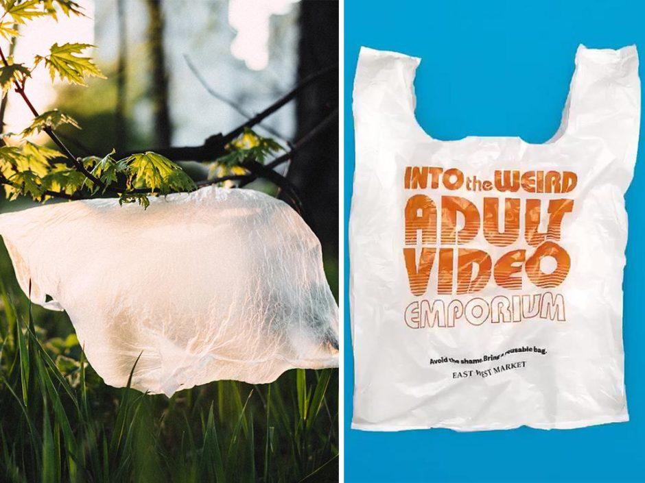 embarrassing plastic bag slogans
