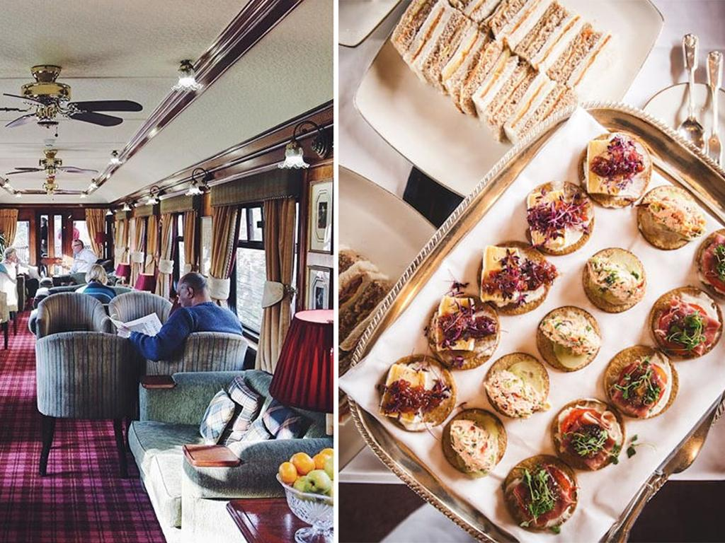 luxury railway journey