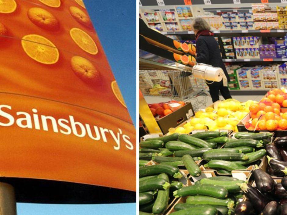 Sainsburys plastic bag free