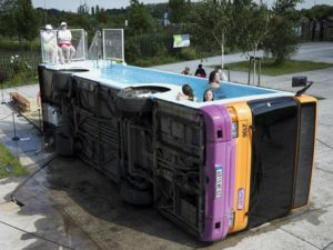 swimming pool bus