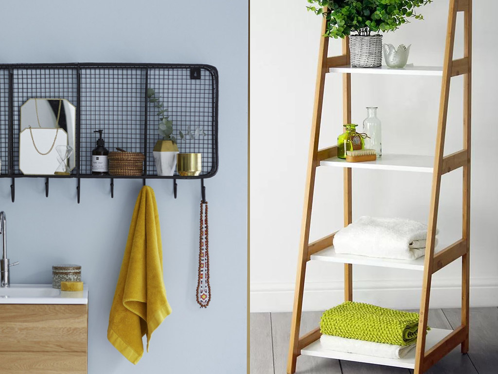 8 Creatively Cool Bathroom Towel Storage Ideas   Inspiralist