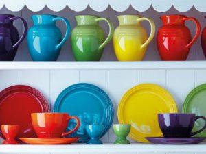 le creuset rainbow breakfast