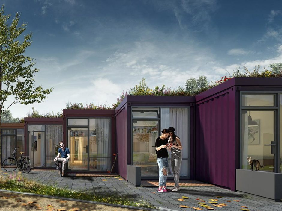 shipping container micro homes