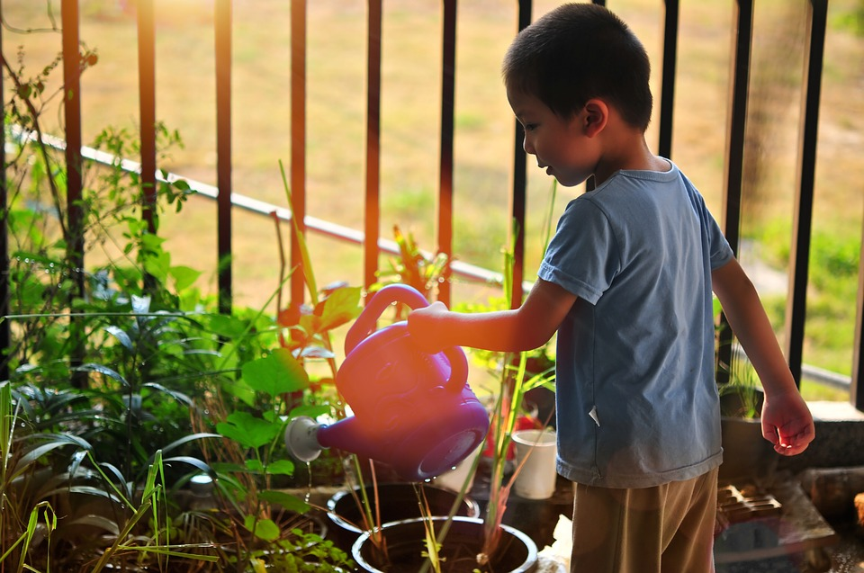 fun summer activities at home kids gardening