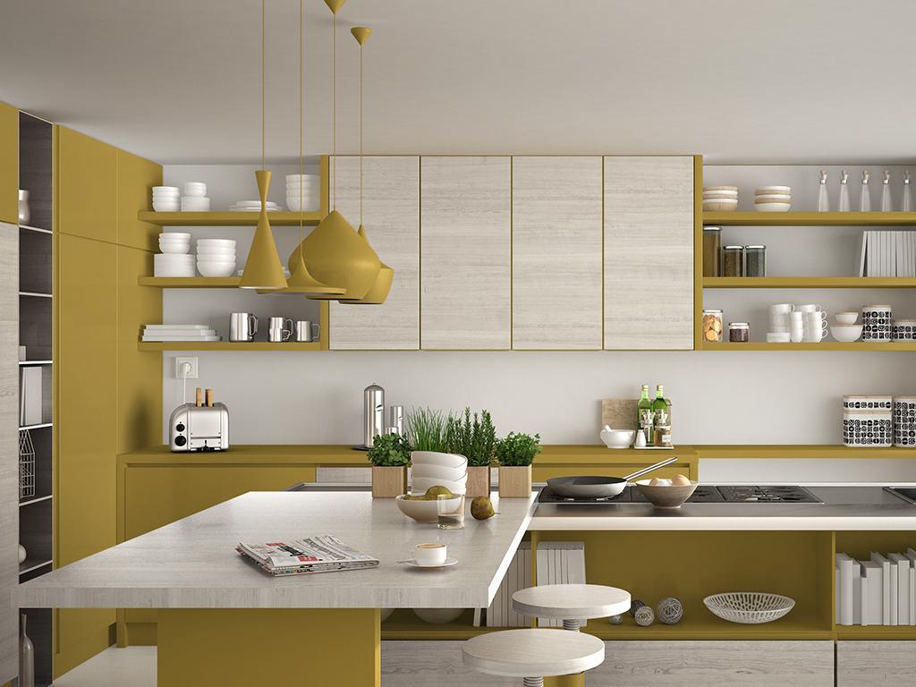 yellow kitchen ideas
