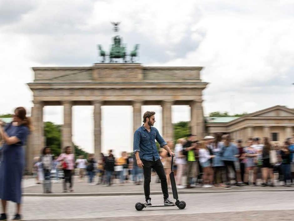 audi etron scooter