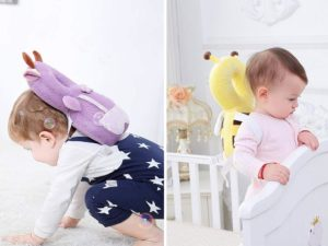 baby backpack head protectors