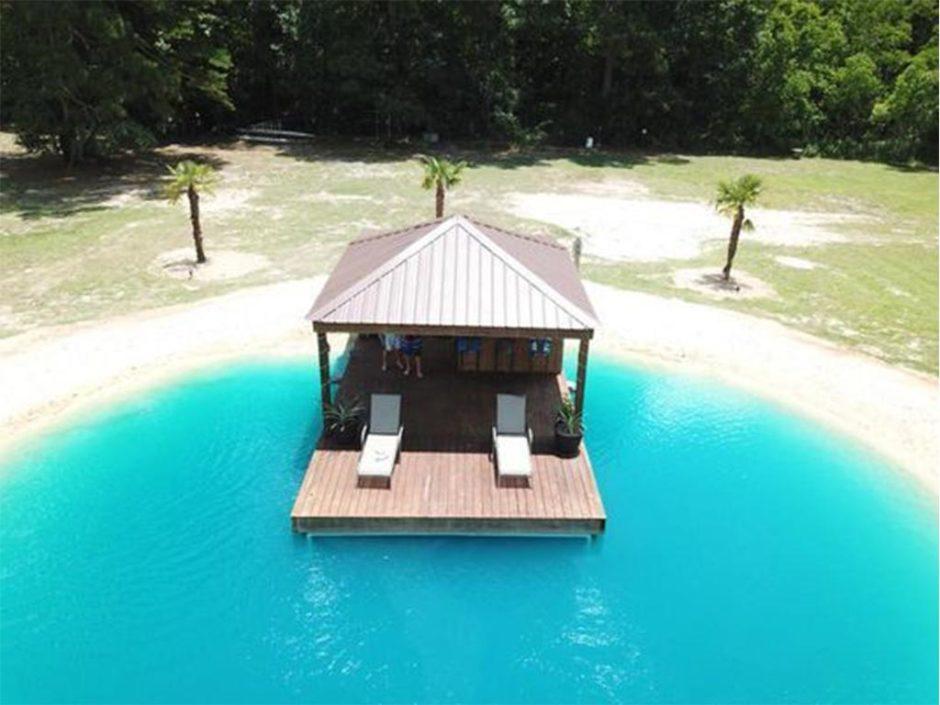 private garden beach resort