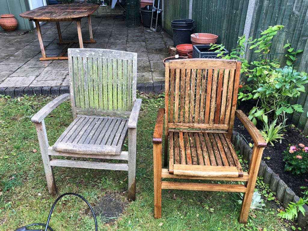 restore garden furniture