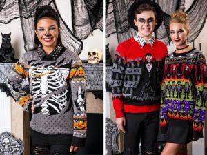 halloween ugly sweaters