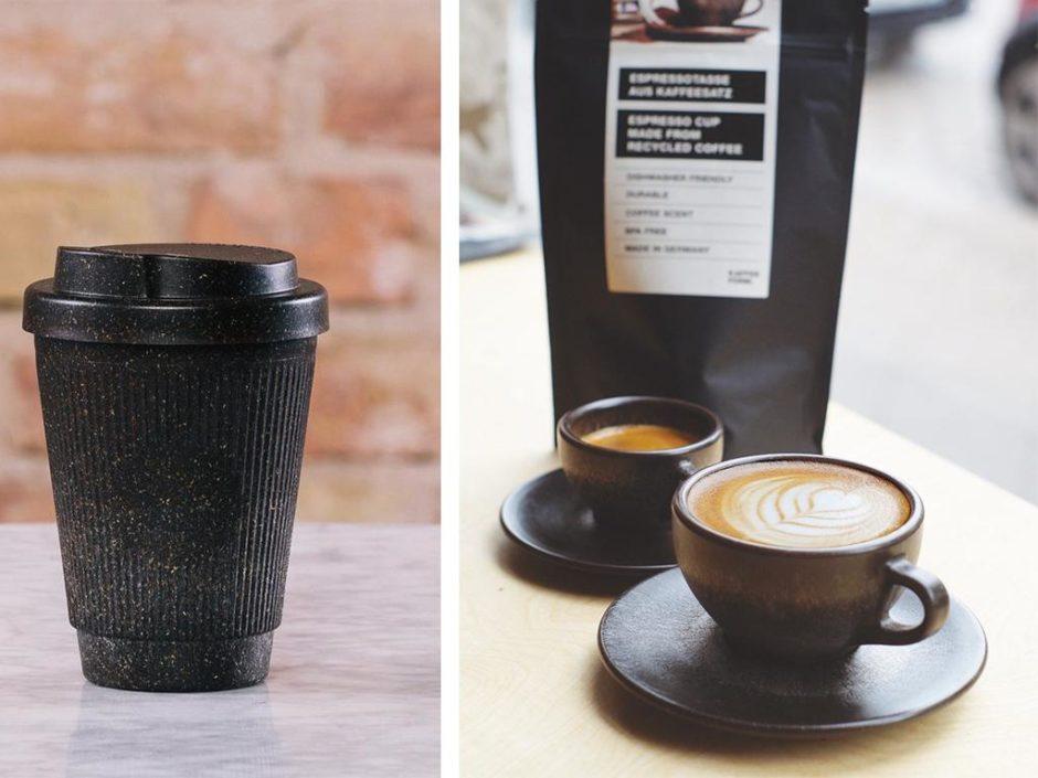 kaffeeform recycled coffee cups