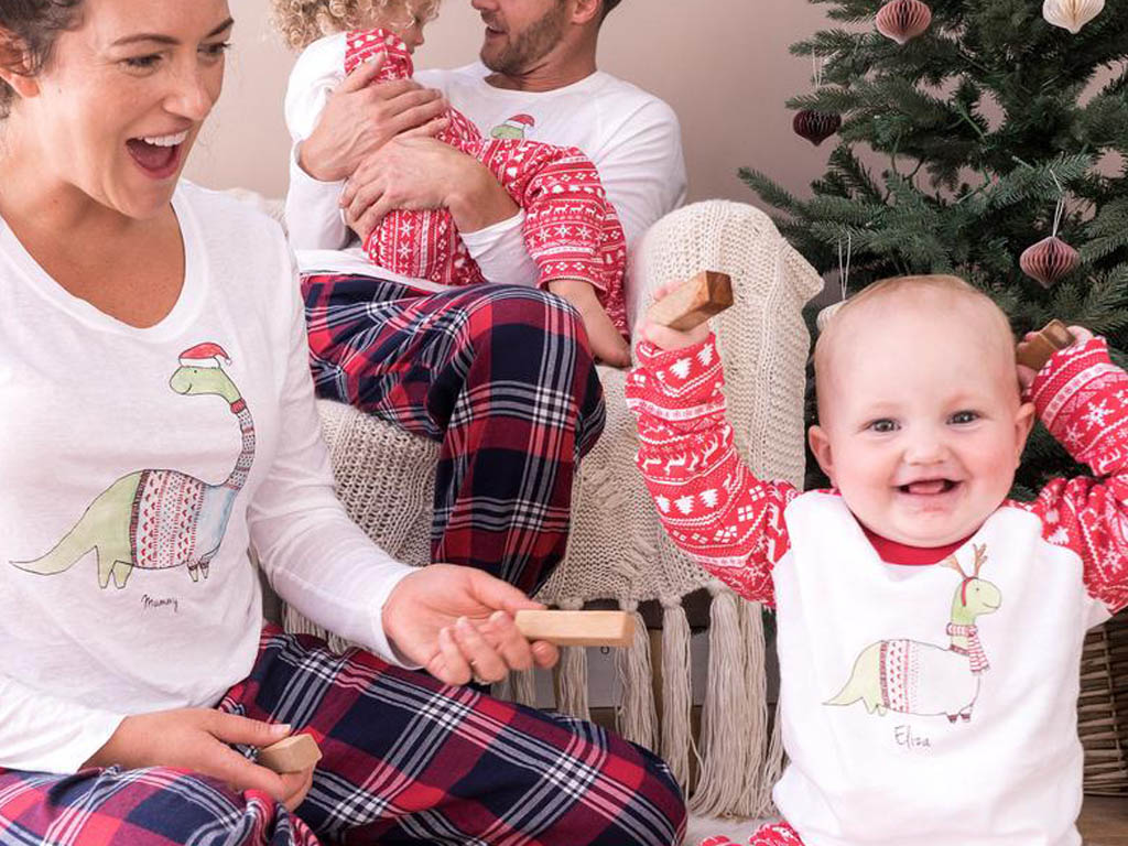 best matching family pyjamas