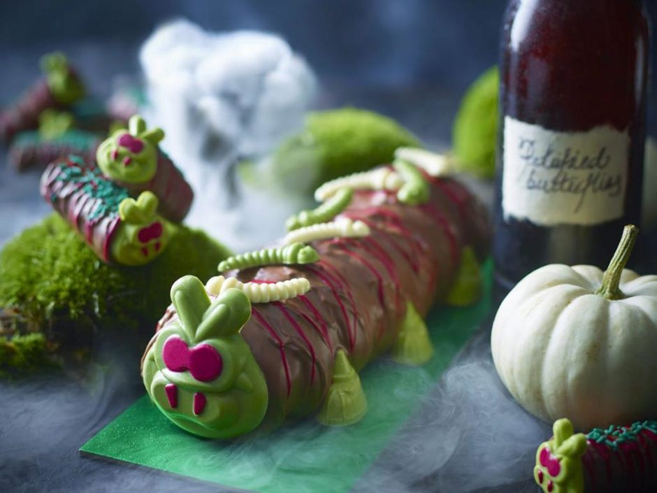 colin the caterpillar halloween