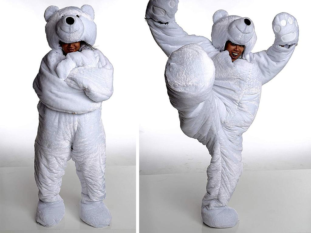 snoozzoo polar bear sleeping bag