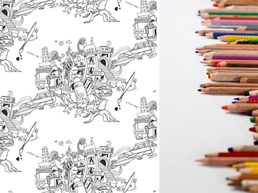 colour me wallpaper