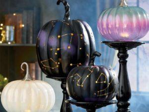 halloween constellation pumpkins