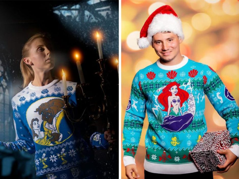 disney ugly christmas sweaters