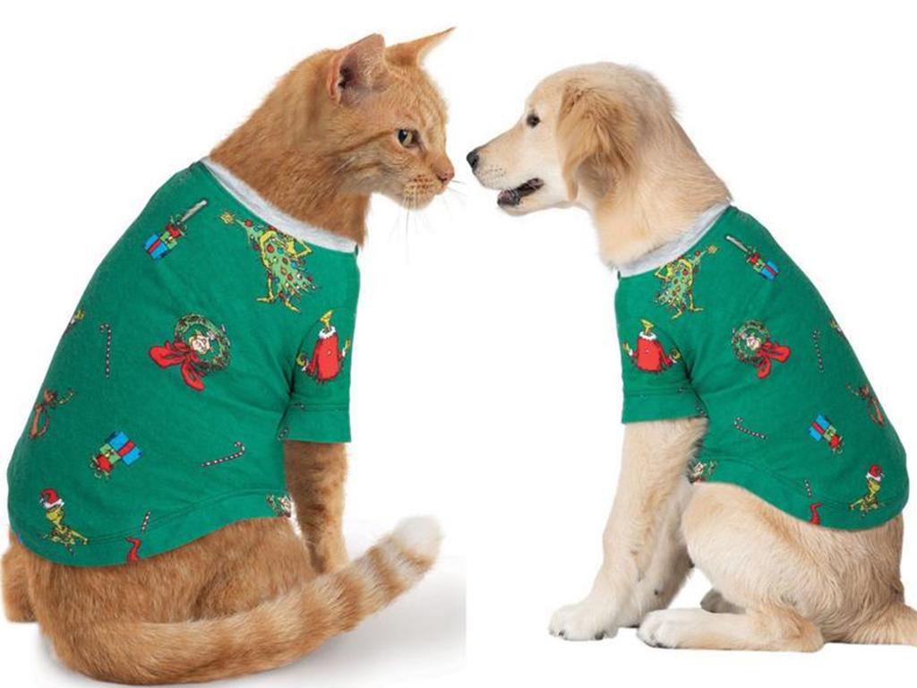 grinch family christmas pyjamas