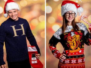 harry potter ugly christmas jumpers