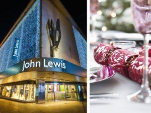 John Lewis plastic crackers