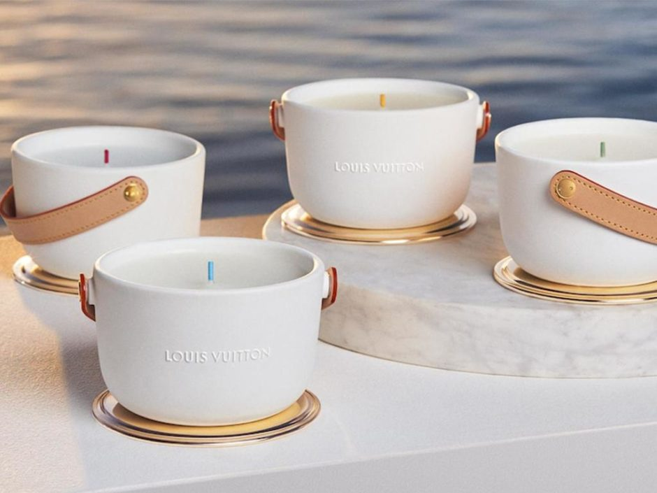 louis vuitton luxury candle