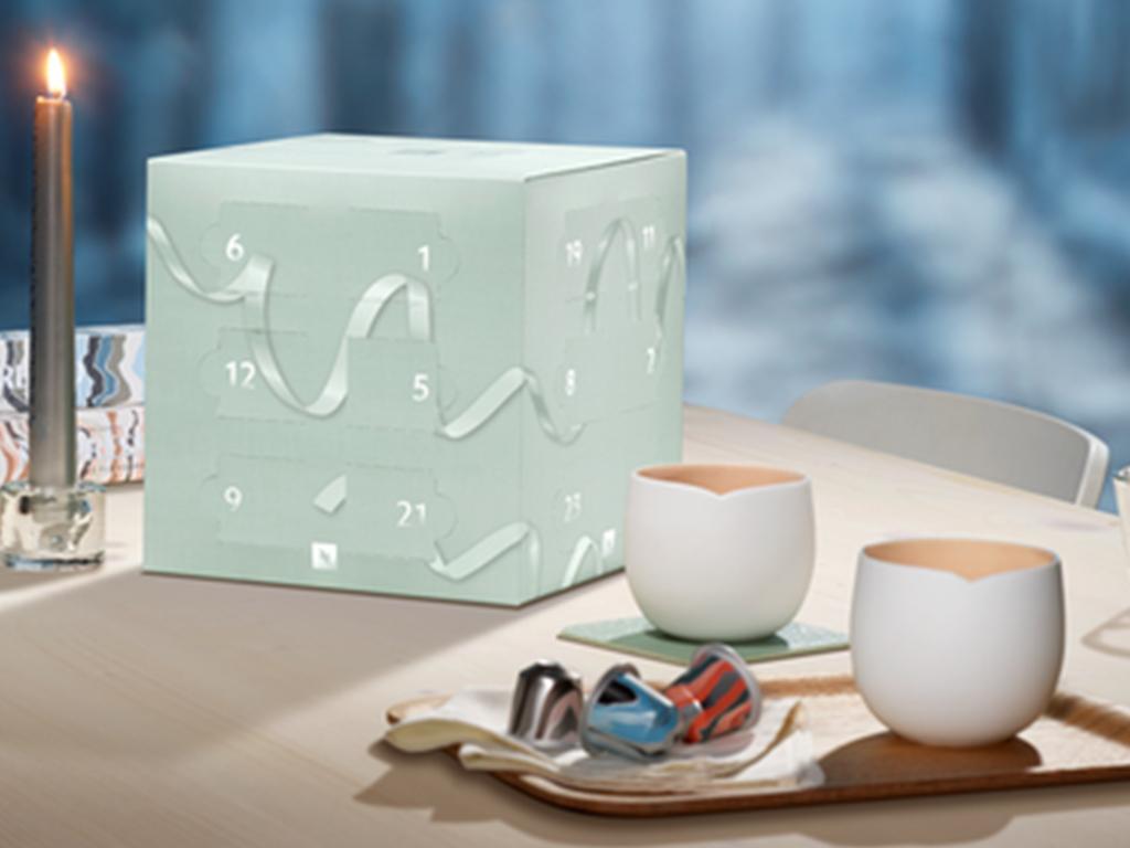 The Nespresso Advent Calendar Has Arrived to Help You Deck ...