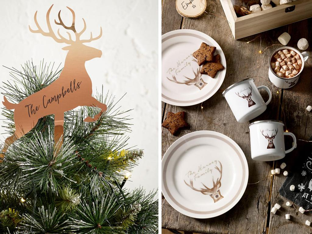 next home personalised Christmas