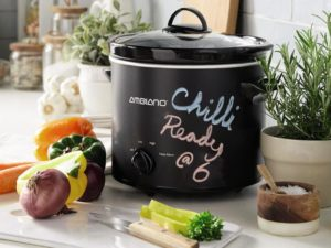 This New Slow Cooker Is a Winter Dining Must-Have and it Features a Genius Chalkboard Design Chefs will Love