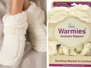 warmies micowavable slippers