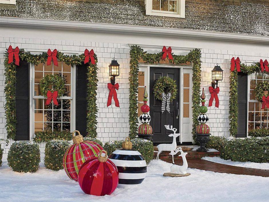 grandinroad large christmas ornaments