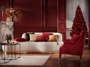 hm home red christmas