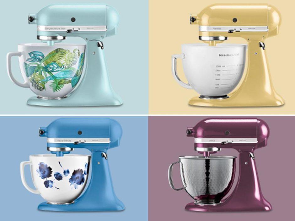 kitchenaid personalisation mixer service