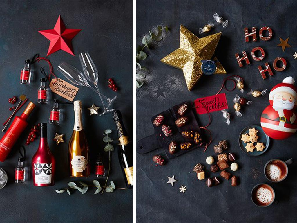 marks and spencer festive food