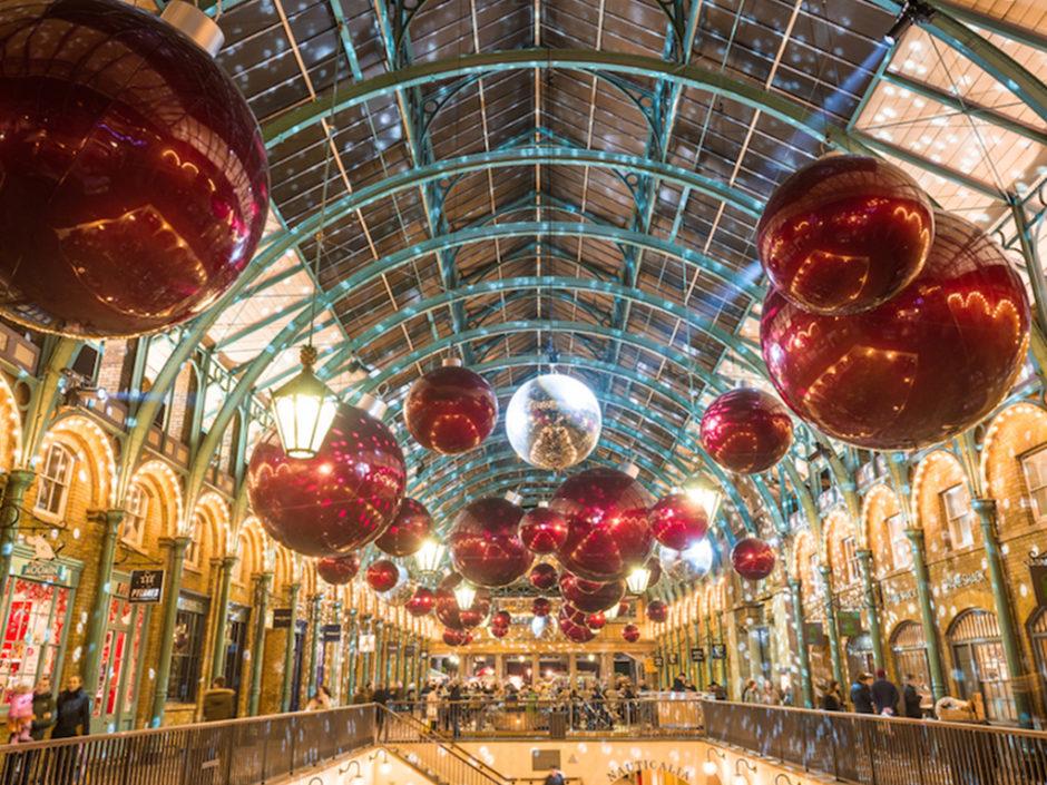 london christmas trees