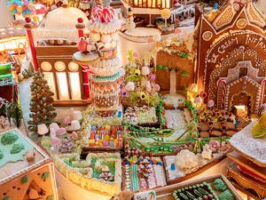 gingerbread city exhibition